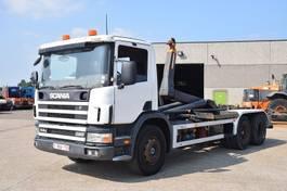 containersysteem vrachtwagen Scania 114G 380 6x2 CONTAINER SYSTEEM- CONTAINER SISTEEM- CONTAINER HAAKSYSTEEM- SYSTEME CONTENEUR 2001