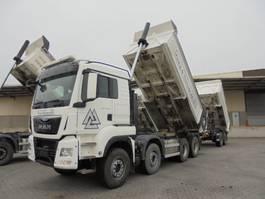 kipper vrachtwagen > 7.5 t MAN TGS 41 8X4 2015