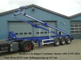 container chassis oplegger Renders 3 As Kipper chassis 30FT en 20 FT Liftas Selfsupportend op 24 Volt 1997