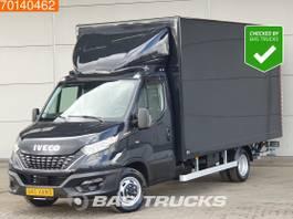 gesloten bestelwagen Iveco 35C18 3.0 180PK Automaat Laadklep Bakwagen Zijdeur Navi A/C Cruise control 2021