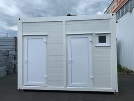 sanitaircontainer Vamiro Sanitary container PUR 4 x 2.45m, Festival toilets, Shower container, Camping toilet, Mobile WC - NEW 2021