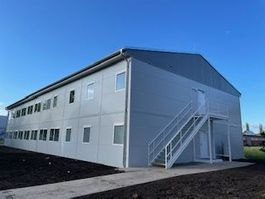 kantoor woonunit container Vamiro Commercial building 990m2 - 56 modules, living container, office container, container house, garden house bungalow, container living module - 33m x 15m- NEW 2021