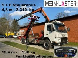 containersysteem vrachtwagen Volvo FM 12 PK 16502 C 12m - 1.000 kg Funk FB 2006