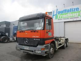 containersysteem vrachtwagen Mercedes-Benz Actros 2635 2000