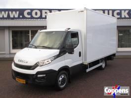 gesloten bestelwagen Iveco 35 C 14 Bakwagen met laadklep 2017