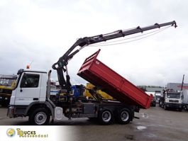kipper vrachtwagen > 7.5 t Mercedes-Benz Actros 2646 6X4+ Hiab 288 + Kipper+REMOTE 2007