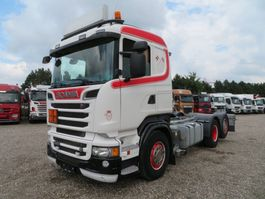 chassis cabine vrachtwagen Scania R500 6x2 V8 ADR Fahrgestell 2013