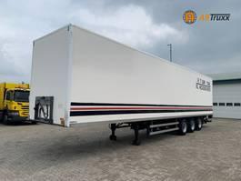 gesloten opbouw oplegger Burg BPO 3-As BPW NL trailer 2006