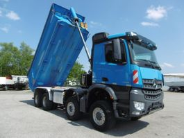 kipper vrachtwagen > 7.5 t Mercedes-Benz 06.2022 4148 8x6 Kipp Mulde Blattfederung Euro 6 2017