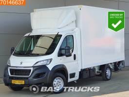 gesloten bestelwagen Peugeot 2.0 HDI 163PK Bakwagen Laadklep Airco Koffer Meubelbak A/C 2019