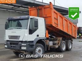 kipper vrachtwagen > 7.5 t Iveco Trakker 380 6X4 Manual Big-Axle Steelsuspension Euro 3 2007
