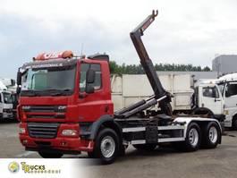containersysteem vrachtwagen DAF CF 85 + Hook system + 6X2 2008