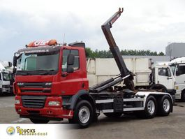 containersysteem vrachtwagen DAF CF 85 + Hook system + 6X4 2008