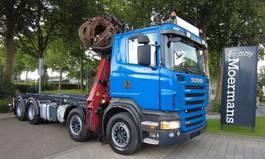 containersysteem vrachtwagen Scania R480 8x4 2008