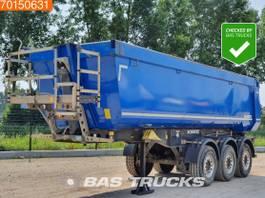 kipper oplegger Schmitz Cargobull SGF*S3 Liftachse kipper 28m3 2014