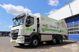 vuilkar camion Ginaf Ginaf C3128-N 2015