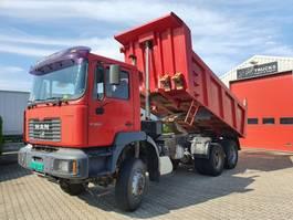 kipper vrachtwagen > 7.5 t MAN 33.364 DFAK 6x6 FE 360 2002