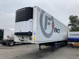 koelwagen aanhanger Schmitz Cargobull 2 akslet køletrailer med foldelift