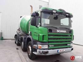 betonmixer vrachtwagen Scania 124 360 manual pump 2001