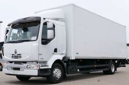 bakwagen vrachtwagen Renault Midlum 300 DXi Koffer Scheckheft LBW Schalter E5 2013