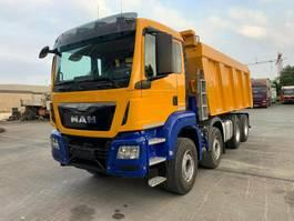 kipper vrachtwagen > 7.5 t MAN TGS 41 8x4 BB 4 Achs Muldenkipper Meiller41 2016