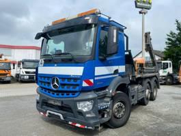 containersysteem vrachtwagen Mercedes-Benz 2543 L 6x2 Absetzkipper Meiller Vol.Lenk/L 2016