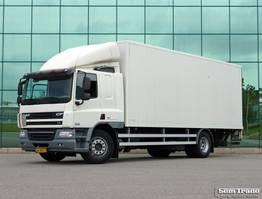 bakwagen vrachtwagen DAF CF 75 EURO 5 EEV SLEEPER CAB LOW KILOMETER 2013