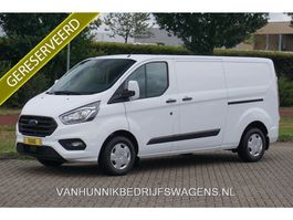gesloten bestelwagen Ford 300L 130PK Trend Aut Airco, Navi, Cruise, Camera, 2x Schuifdeur NR. B06* 2021