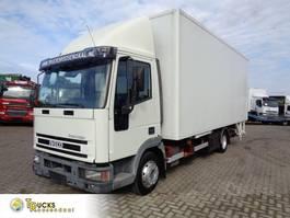 bakwagen vrachtwagen Iveco EuroCargo 80 80E15 + Manual + Dhollandia Lift + Euro 2 1999