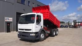 kipper vrachtwagen > 7.5 t Renault Premium 340 (GRAND PONT / POMPE MANUELLE / EURO 2 / 10 ROUES / 6X4) 1999