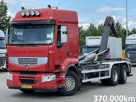 containersysteem vrachtwagen Renault Premium 380 DXI VDL 20T HAAKARM 6x2*4 2006
