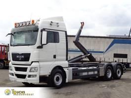 containersysteem vrachtwagen MAN TGX 18 Manual + HOOK system + Euro 5 2010