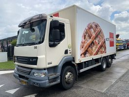 bakwagen vrachtwagen DAF LF 55 FAN 6X2 - 21 TONS + LAADKLEP 2010