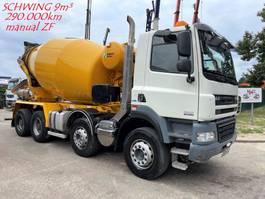 betonmixer vrachtwagen DAF CF 85 ATE - 9m³ SCHWING STETTER - 8x4 - MANUAL GEARBOX ZF - 290.000km - 8x4 - STEEL SPRING/BIG AXLES - NICE CONDITION 2014