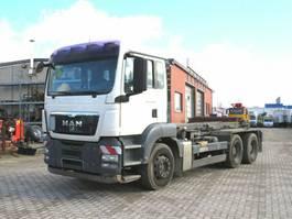 containersysteem vrachtwagen MAN TGS 26 6x4 BB Abrollkipper Seilgerät 2008