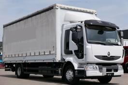bakwagen vrachtwagen Renault Midlum 300 Light Pritsche Plane Schiebeplane E5 2013