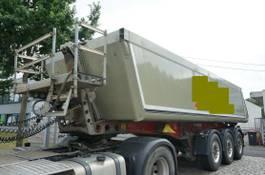 kipper oplegger Schmitz Cargobull SKI24 Alulmulde Liftachse SAF ca 24m³ 2010