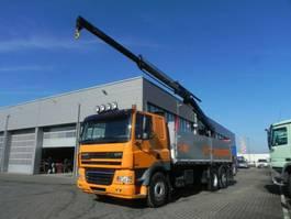 kipper vrachtwagen DAF CF 85 3-Achs Kipper Heckkran Kempf Kipper Len 2012