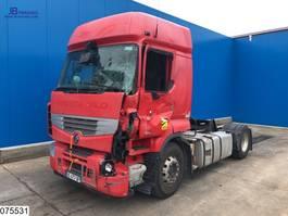 standaard trekker Renault Premium 460 Dxi EURO 5 EEV, Retarder, Damaged Truck 2014