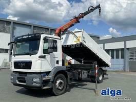 kipper vrachtwagen > 7.5 t MAN 18.290 2011