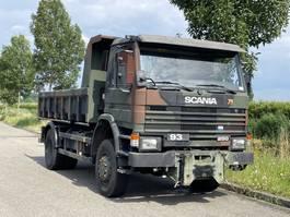 standaard trekker Scania P92 250  4x4 kipper low KM 1990