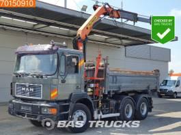 kipper vrachtwagen > 7.5 t MAN 27.403 6X4 Manual Big-Axle Euro 2 Palfinger PK11001 A 1996