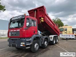 kipper vrachtwagen > 7.5 t MAN TGA 35 Full steel - Manual - Airco - 20M3 2005