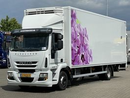 bakwagen vrachtwagen Iveco EuroCargo 120 E 22 EEV KOFFER / LBW 2014