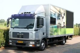 bakwagen vrachtwagen MAN TGL 8 AIRCO MEUBELBAK-KOFFER + L 2 610 LAADKLEP 2009