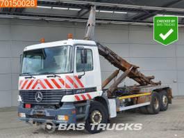 containersysteem vrachtwagen Mercedes-Benz Actros 2531 6X2 3-Pedals Euro 2 1999