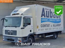 bakwagen vrachtwagen MAN TGL 12 4X2 Manual Ladebordwand Euro 4 2007