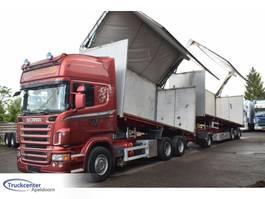 kipper vrachtwagen > 7.5 t Scania R620-V8 Combi, Side opening, Euro 4, Topline, Truckcenter Apeldoorn 2008