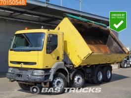 kipper vrachtwagen > 7.5 t Renault Kerax 420 8X4 2-Seiten Kipper Manual Big-Axle Euro 3 2003