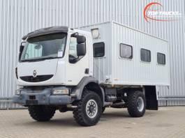 bakwagen vrachtwagen Renault Midlum 280 DXi 4x4 -Passagiers, Passenger -Camper -Expeditie- Container 2008